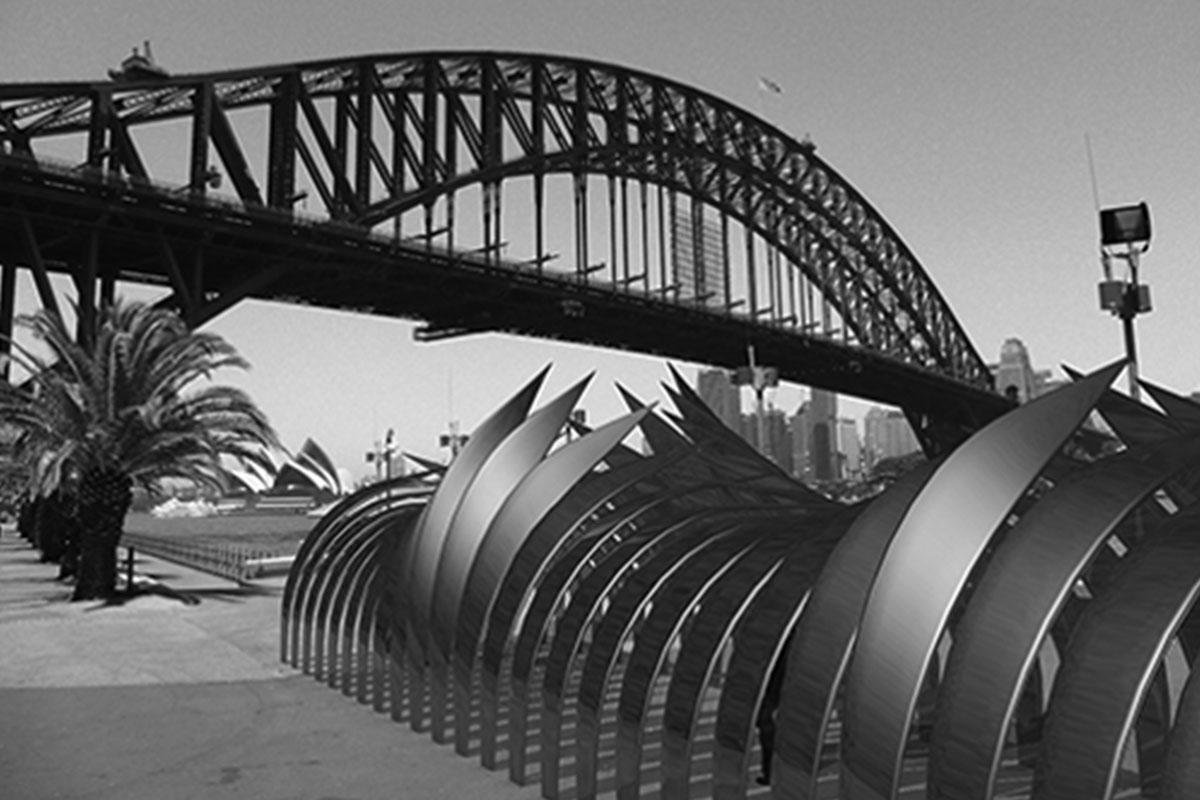 Installation Habour Bridge Sydney