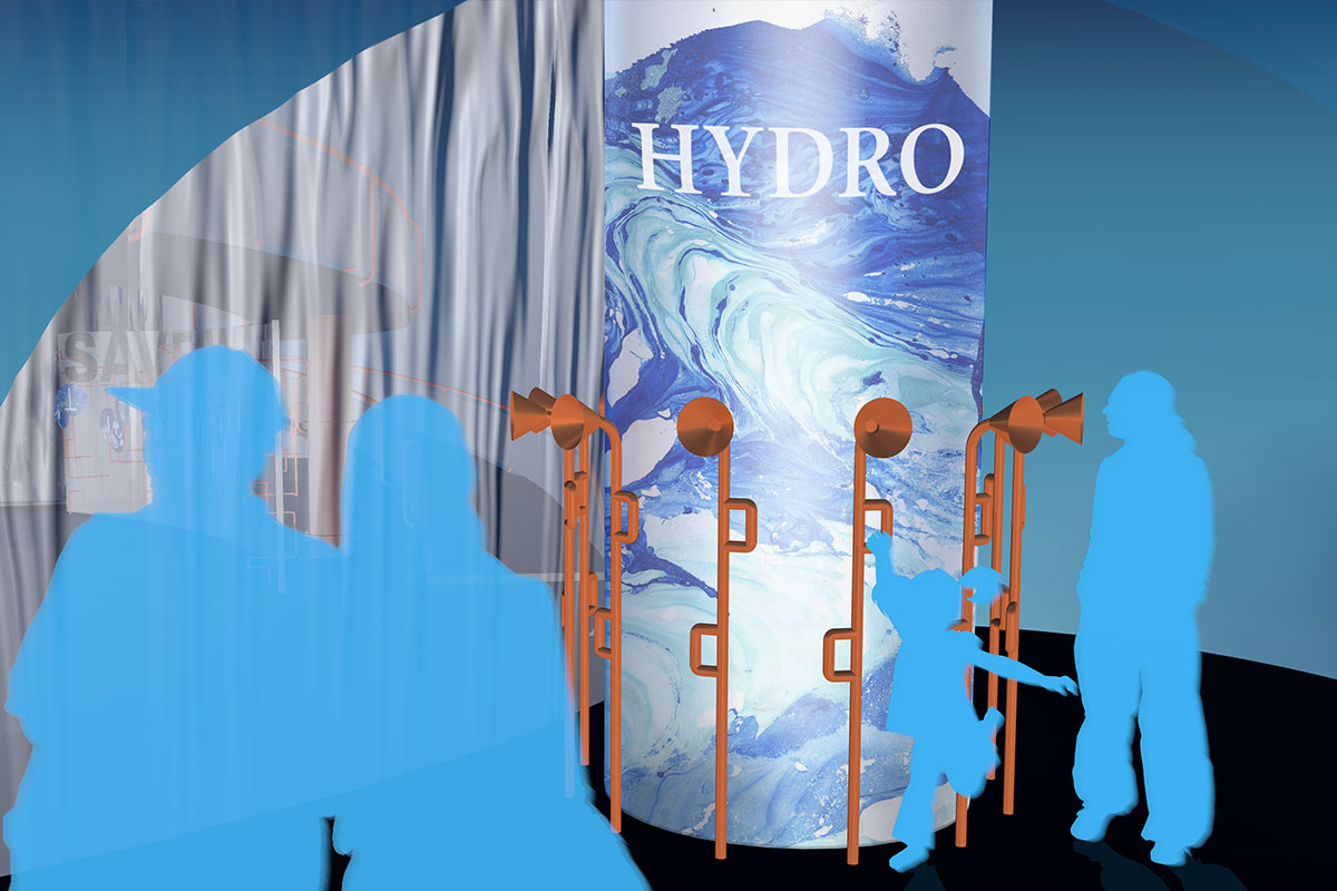 hydro exhibition entrance testimonial