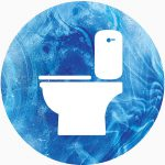 water toilet icon