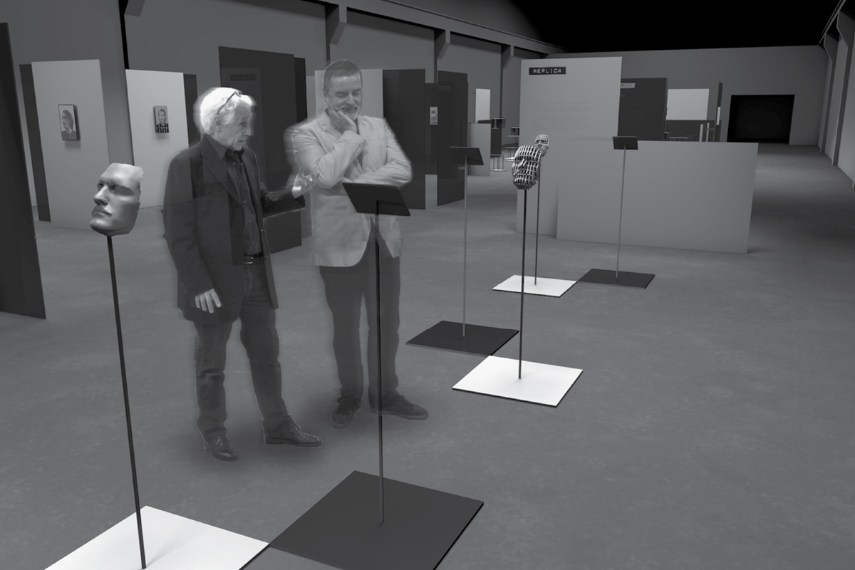 exhibition rendering
