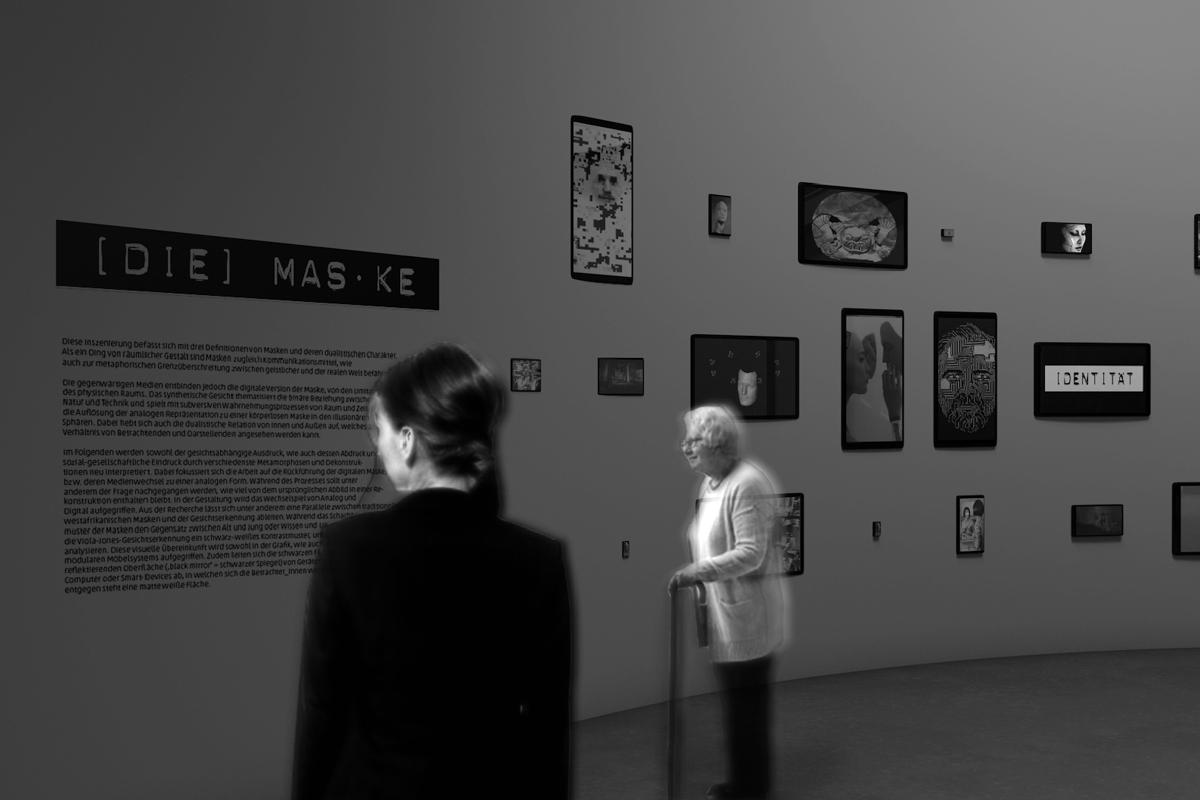exhibition rendering